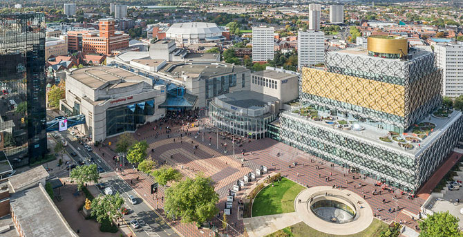 Birmingham's centenary square to get a facelift