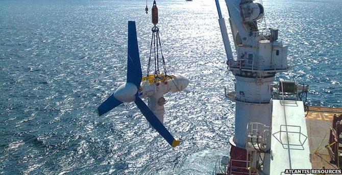 Raising atlantis: tide turns for marine energy