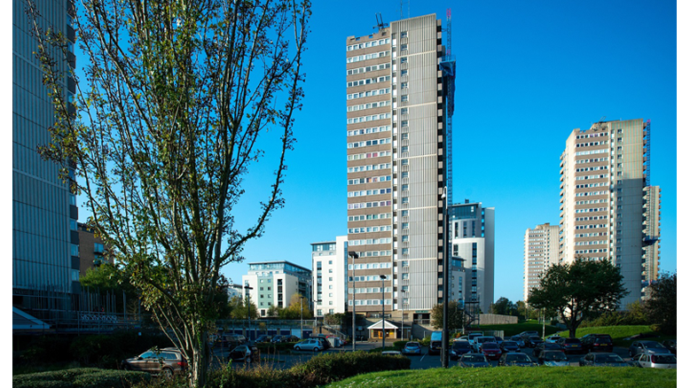 Sika concrete repair solution rises to challenge of tower block